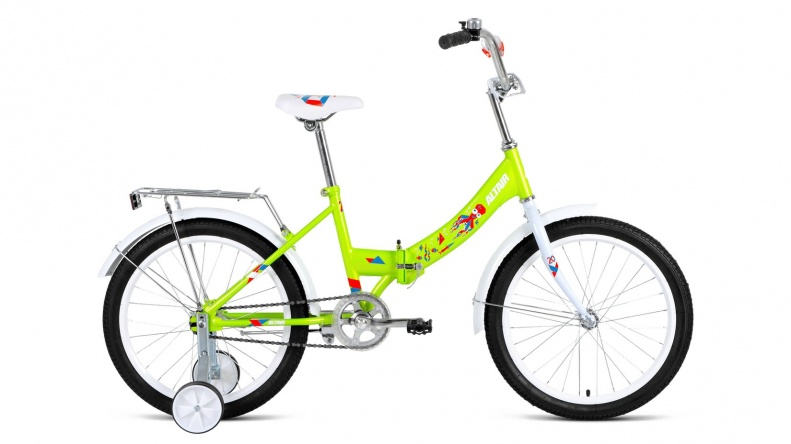 ALTAIR CITY KIDS 20 compact (2021) - зеленый